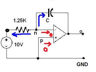 OP Amp and Node Voltage